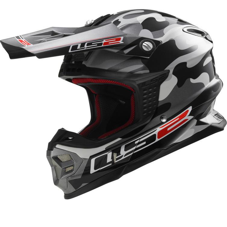LS2 MX456.99 Light Dakar Motocross Helmet