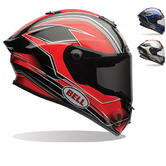 Bell Race Star Triton Motorcycle Helmet