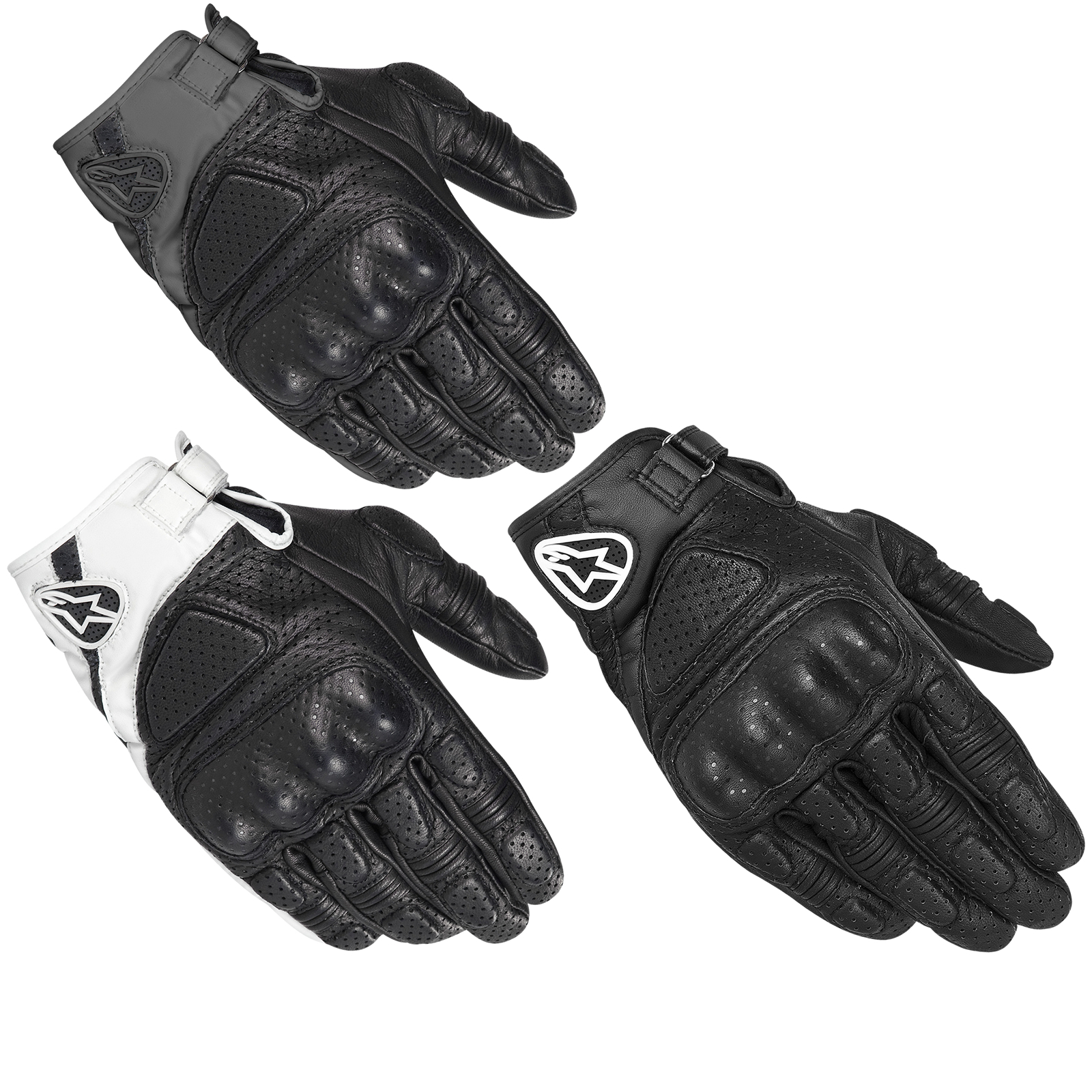 Motorcycle gloves for summer - Image Is Loading Alpinestars Mustang Short Vented Summer Motorcycle Hard Knuckle