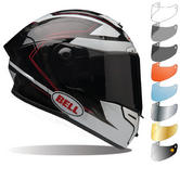 Bell Pro Star Ratchet Motorcycle Helmet & Visor