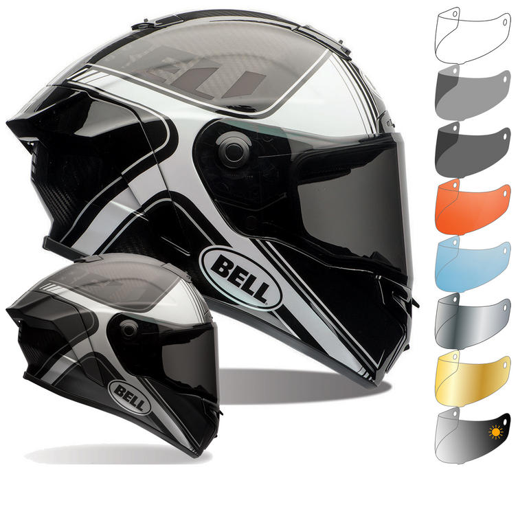 Bell Race Star Tracer Motorcycle Helmet & Visor