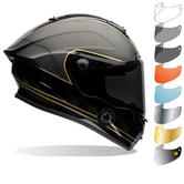 Bell Race Star Ace Cafe Speed Check Motorcycle Helmet & Visor