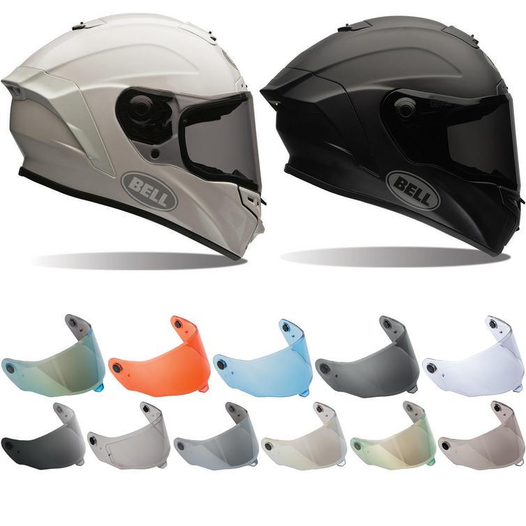 Bell Star Solid Motorcycle Helmet & Visor