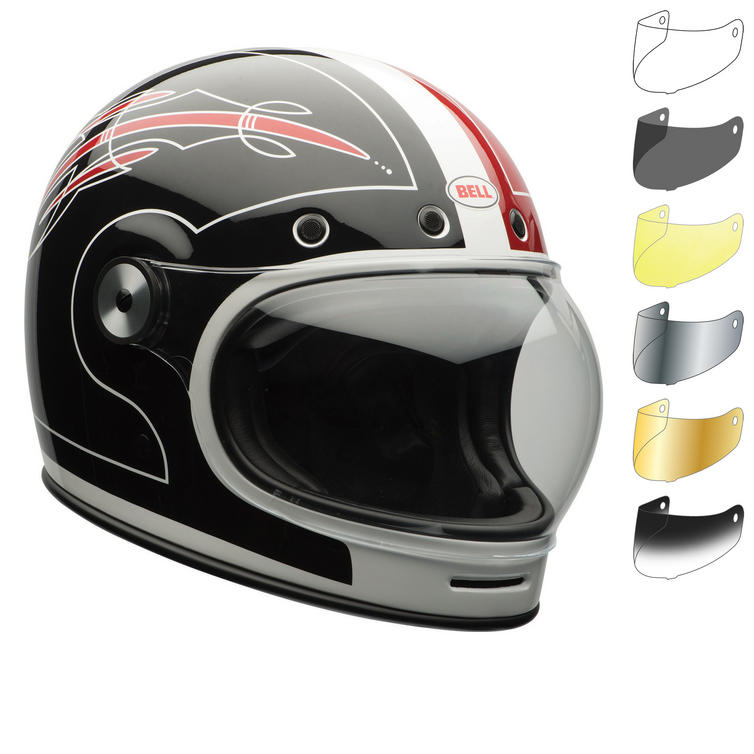 Bell Bullitt SE Skratch Motorcycle Helmet & Visor
