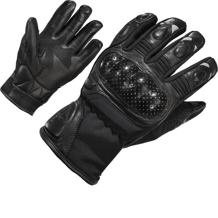 Agrius Stealth Leather Motorcycle Gloves