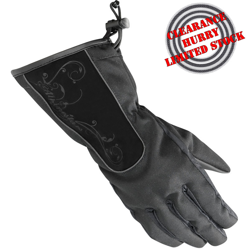 ALPINESTARS STELLA MESSENGER ALL WEATHER LADIES MOTORCYCLE WOMENS BIKER GLOVES Enlarged Preview