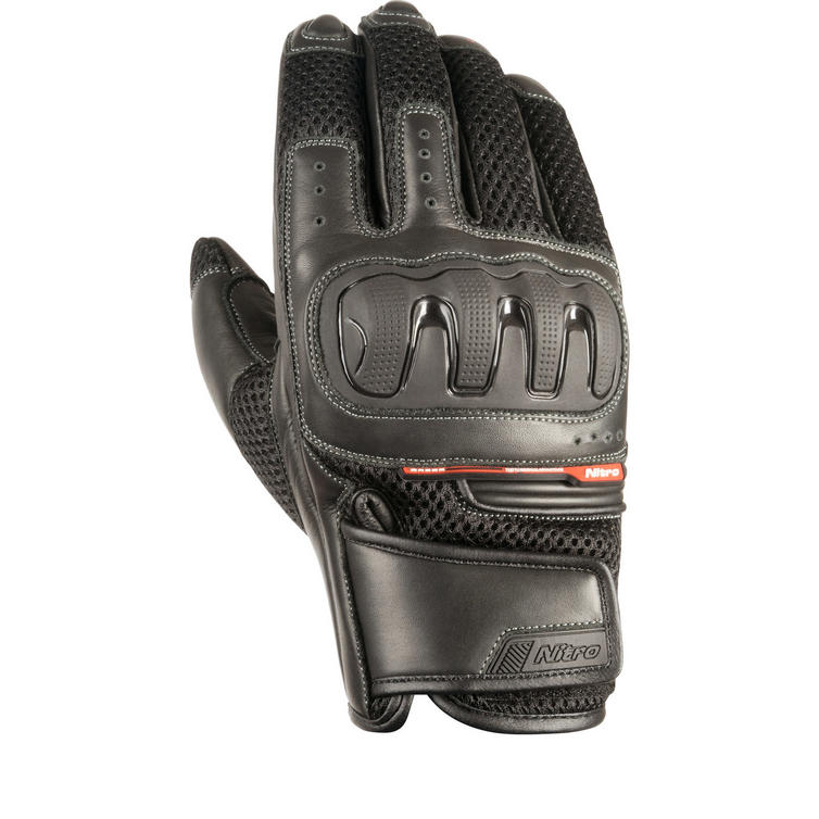 Nitro NG-70 Leather Motorcycle Gloves