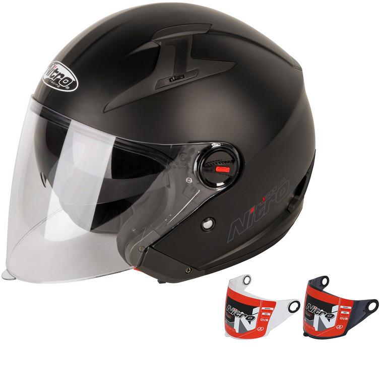Nitro X600 Uno Open Face Motorcycle Helmet & Visor