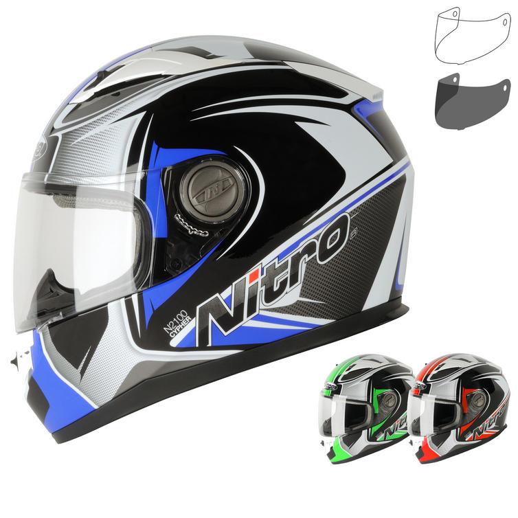 Nitro N2100 Cypher Motorcycle Helmet & Visor