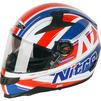 Nitro N2200 Sterling DVS Motorcycle Helmet & Visor Thumbnail 4