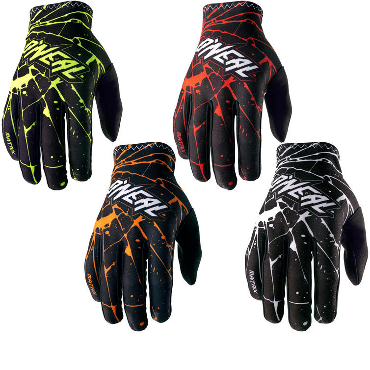 Oneal Matrix 2017 Enigma Motocross Gloves