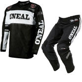 Oneal Ultra Lite LE 75 2017 Motocross Jersey & Pants Black White Kit