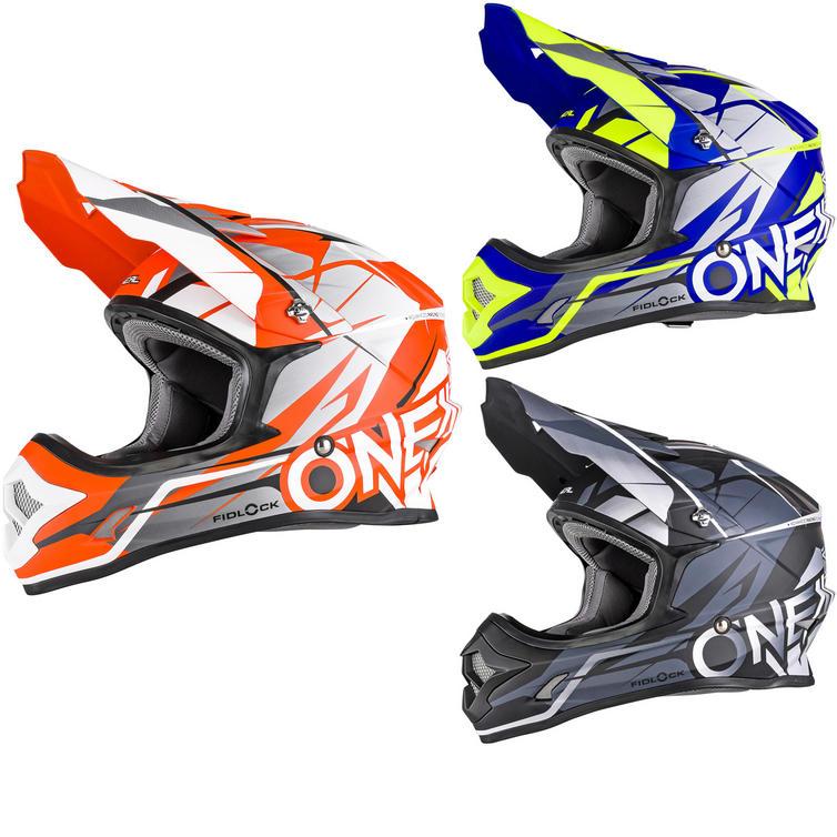 Oneal 3 Series Freerider Fidlock Motocross Helmet