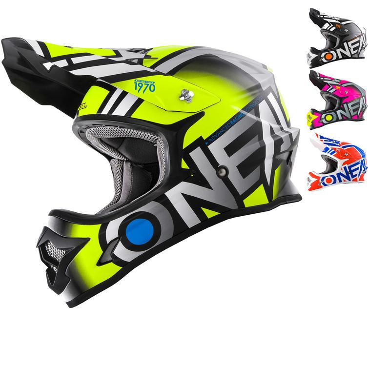 Oneal 3 Series Radium Motocross Helmet