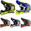 Oneal 3 Series Fuel Motocross Helmet Thumbnail 1