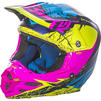 Fly Racing 2017 F2 Carbon MIPs Retrospec Motocross Helmet Thumbnail 7