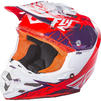 Fly Racing 2017 F2 Carbon MIPs Retrospec Motocross Helmet Thumbnail 10