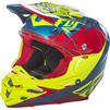 Fly Racing 2017 F2 Carbon MIPs Retrospec Motocross Helmet Thumbnail 8