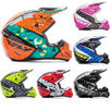 Fly Racing 2017 Kinetic Crux Motocross Helmet Thumbnail 2