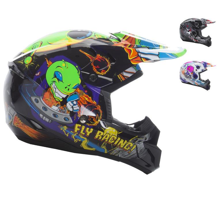 Fly Racing 2017 Kinetic Invazion Youth Motocross Helmet