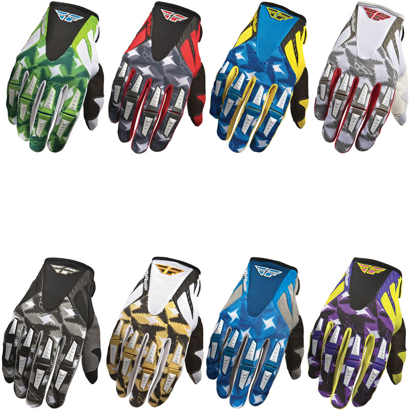 FLY RACING 2011 KINETIC MX MTB DIRT BIKE ENDURO CYCLE BMX QUAD MOTOCROSS GLOVES Enlarged Preview