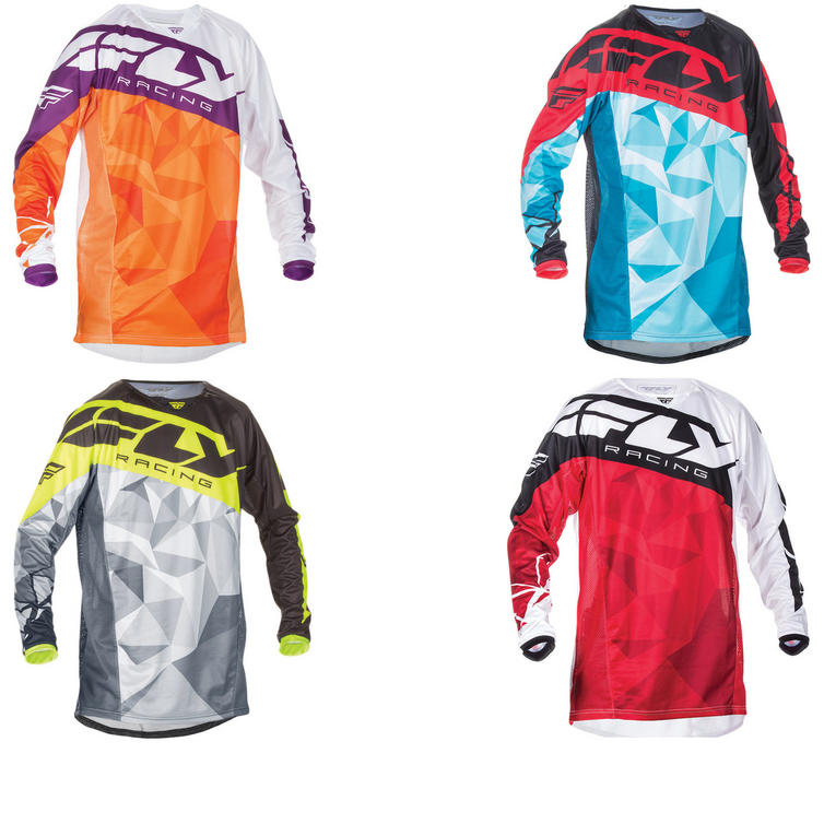 Fly Racing 2017 Kinetic Crux Motocross Jersey