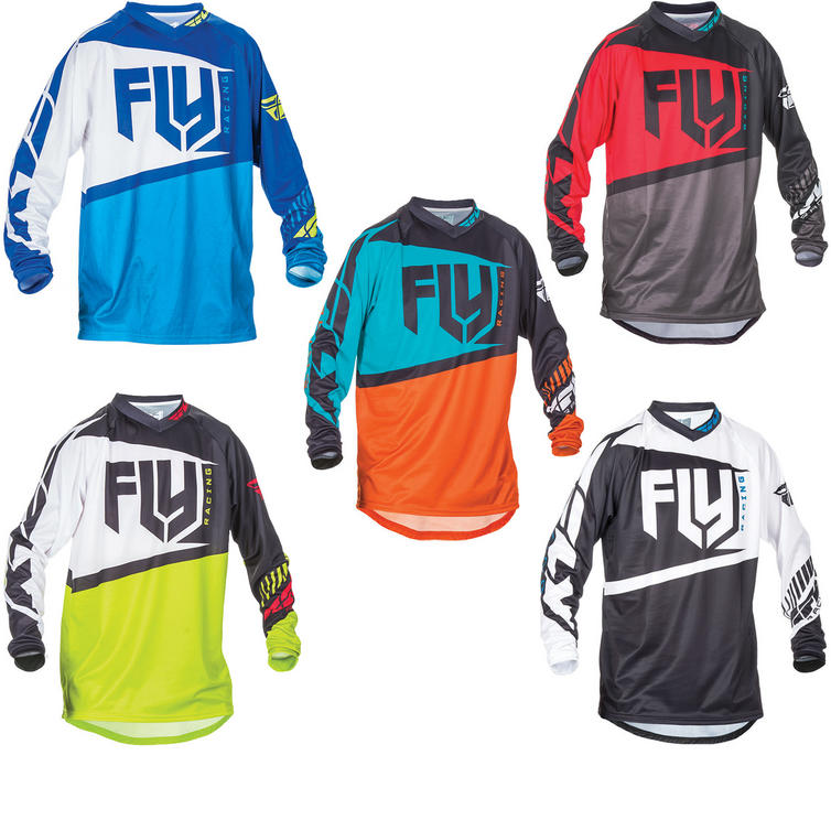 Fly Racing 2017 F-16 Youth Motocross Jersey