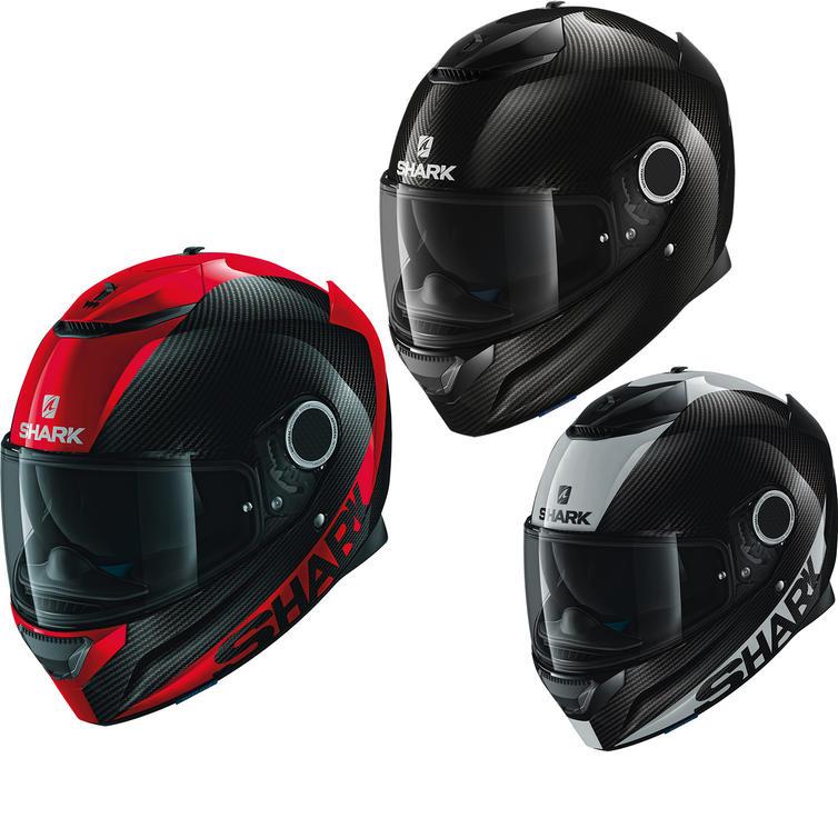 Shark Spartan Carbon Skin Motorcycle Helmet