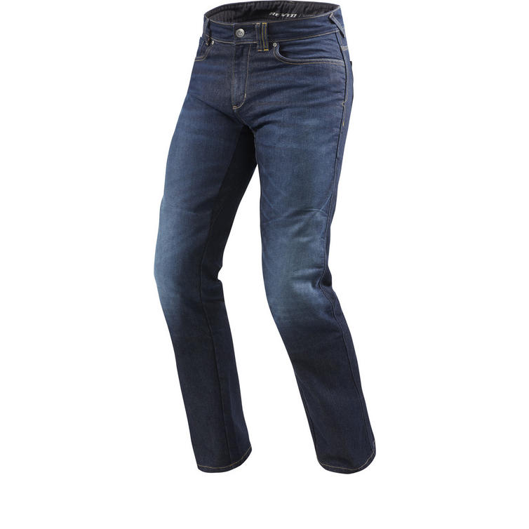 Rev It Philly 2 LF Dark Blue Motorcycle Jeans