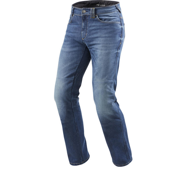 Rev It Philly 2 LF Medium Blue Motorcycle Jeans