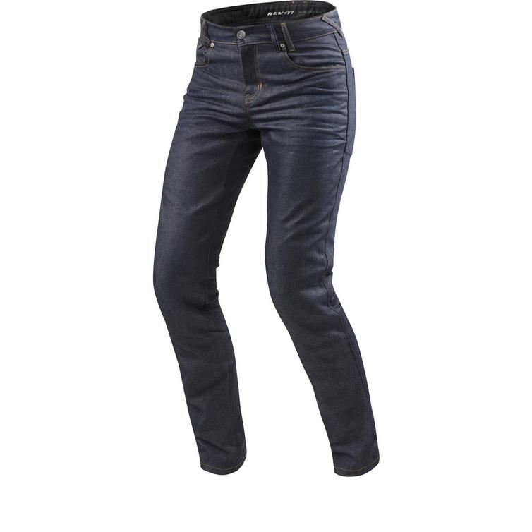 Rev It Lombard 2 RF Dark Blue Motorcycle Jeans