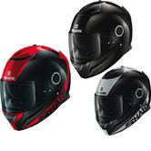 Shark Spartan Carbon Skin Motorcycle Helmet & Visor