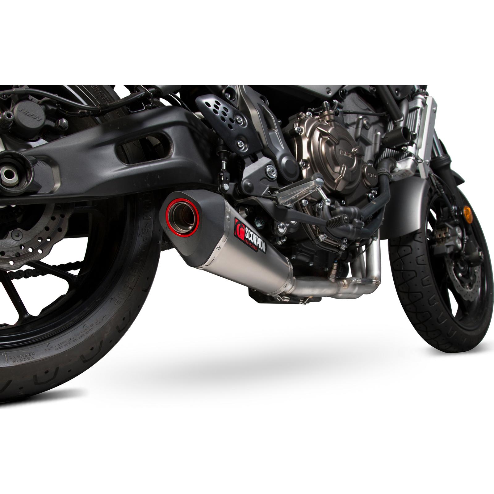 yamaha xsr 700 16 scorpion serket taper titanium exhaust. Black Bedroom Furniture Sets. Home Design Ideas