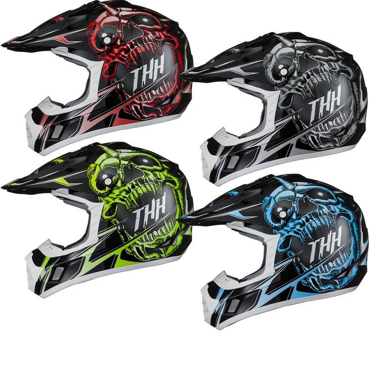THH TX-12 #1 Demon Motocross Helmet