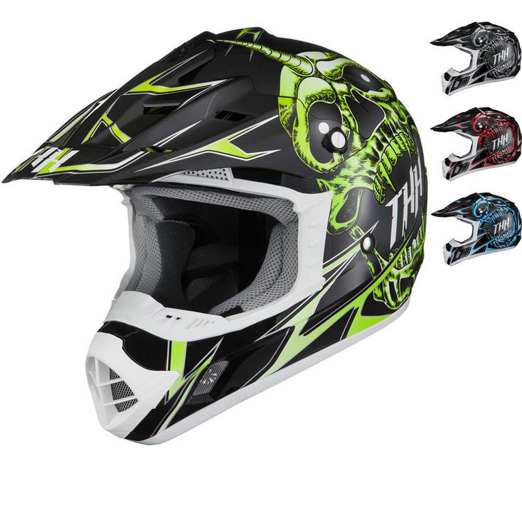 THH TX-12 #21 Demon Motocross Helmet