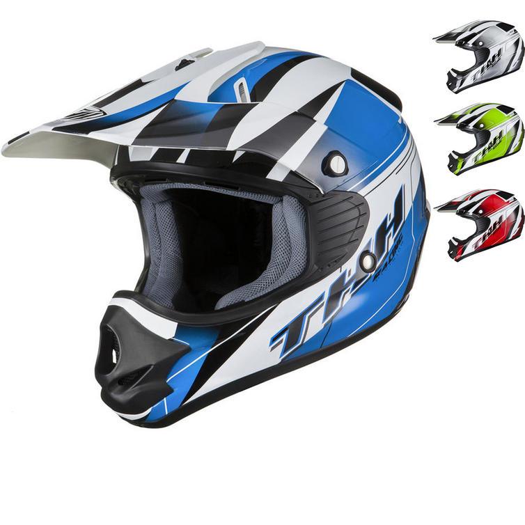 THH TX-11 #10 Kids Motocross Helmet