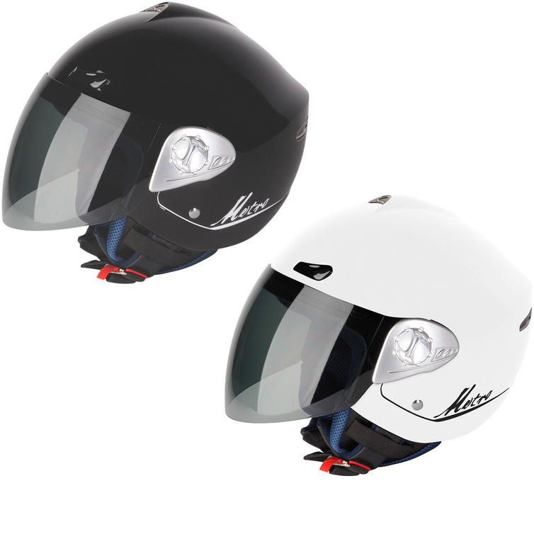 G-Mac Metro Open Face Motorcycle Helmet