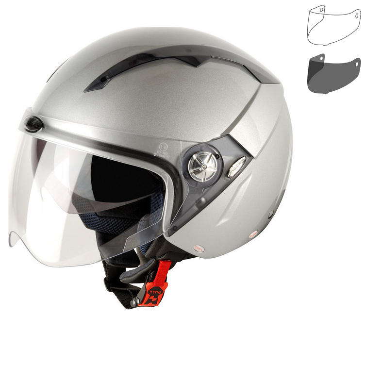 G-Mac Roma Open Face Motorcycle Helmet & Visor