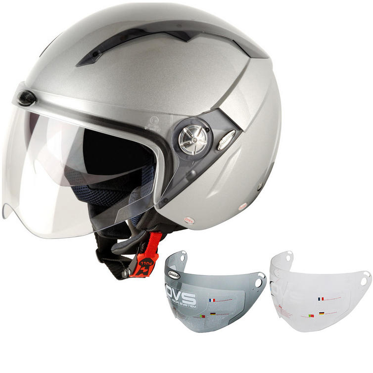 G-Mac Roma Open Face Motorcycle Helmet & Visor