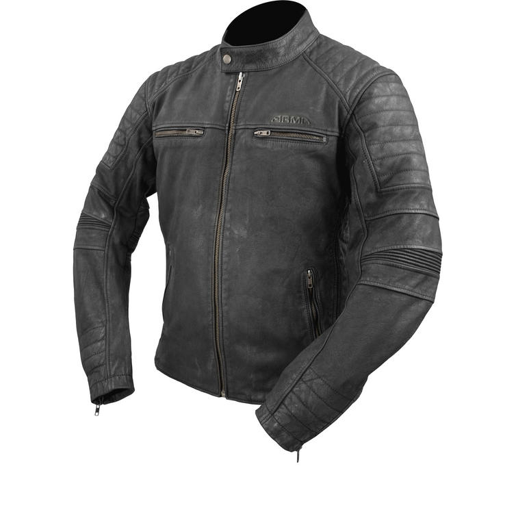ARMR Moto Retoro Leather Motorcycle Jacket