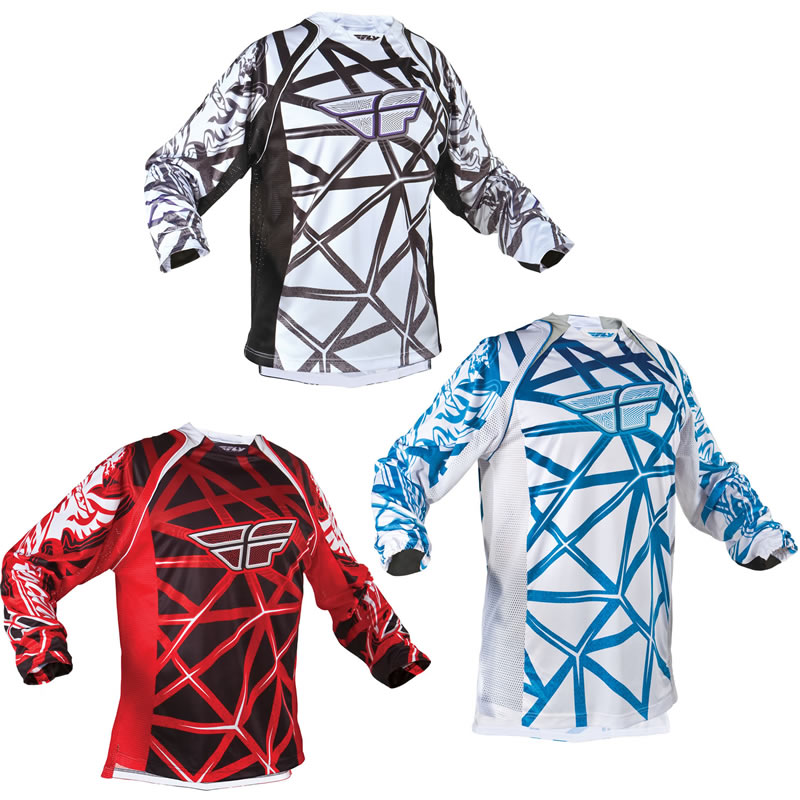 FLY RACING 2011 EVOLUTION MX SHIRT MOTOCROSS JERSEY Enlarged Preview