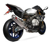 Scorpion Serket Super Stock De-Cat Titanium Oval Exhaust - Yamaha YZF R1 & R1M 15+
