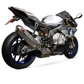 Scorpion Serket Super Stock Titanium Oval Exhaust - Yamaha YZF R1 & R1M 15+