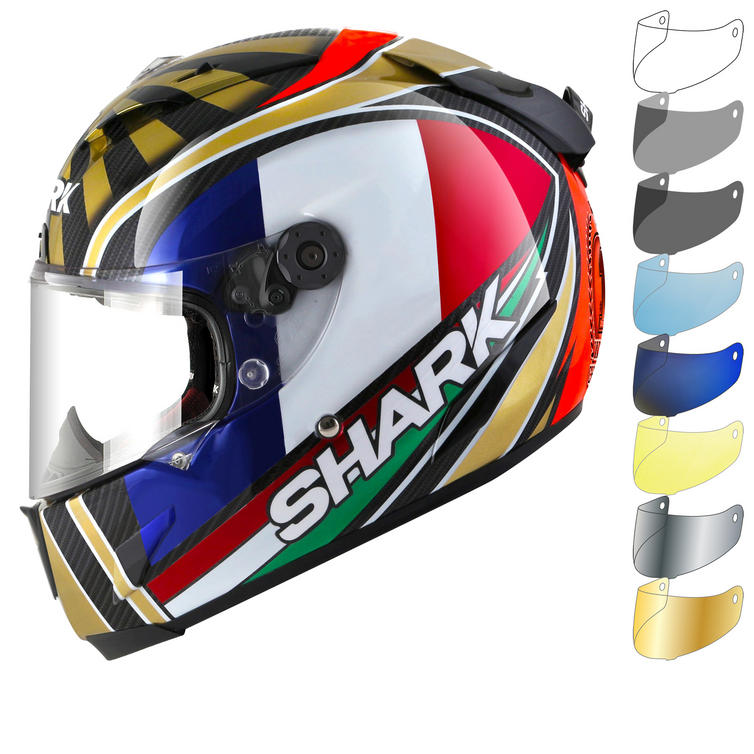Shark Race-R Pro Carbon Zarco Replica Motorcycle Helmet & Visor
