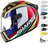 Shark Race-R Pro Carbon Zarco Replica Motorcycle Helmet & Visor