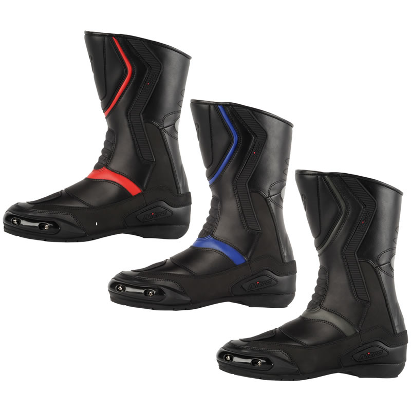 Nitro NB-41 Leather Motorcycle Boots - Sale - Ghostbikes.com