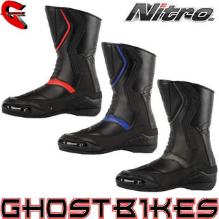View Item Nitro NB-41 Leather Motorcycle Boots