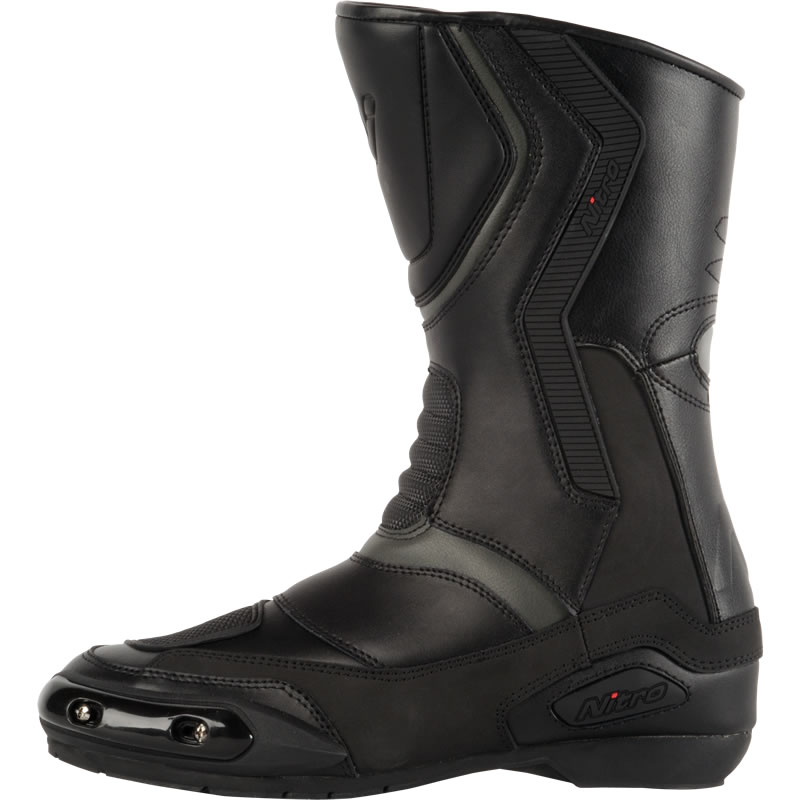 41 waterproof leather sport touring urban motorbike motorcycle boots