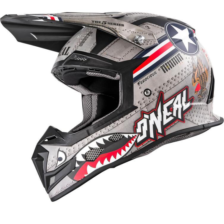 Oneal 5 Series Wingman Motocross Helmet