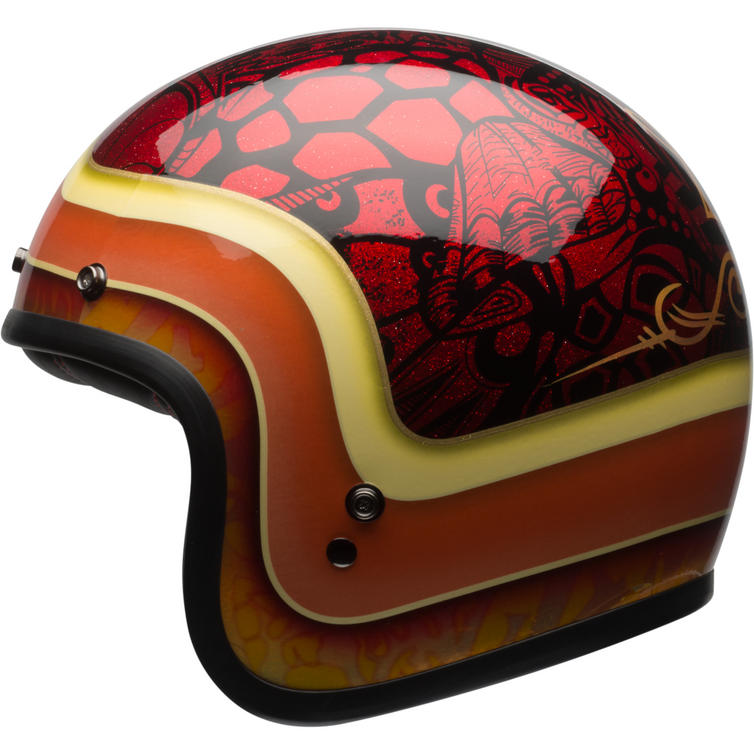 bell custom 500 se hart luck open face motorcycle helmet. Black Bedroom Furniture Sets. Home Design Ideas